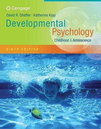 Cengage Advantage Books: Developmental Psychology: Childhood and Adolescence: David R. Shaffer