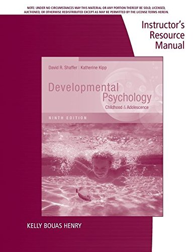 9781133491286: Irm Devel Psychology