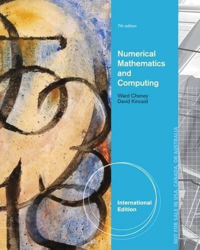 9781133491811: Numerical Mathematics and Computing