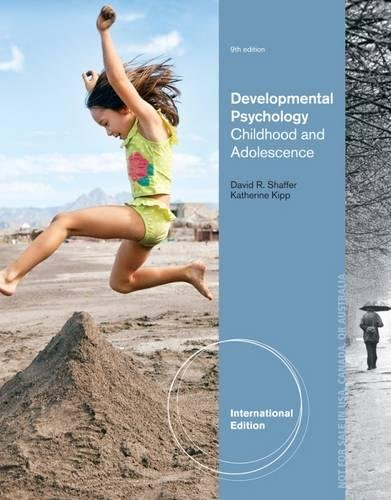 9781133492306: Developmental Psychology: Childhood and Adolescence
