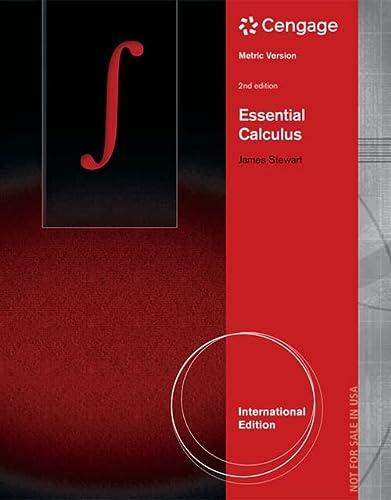 Essential Calculus, Metric Edn, 2Nd Edn: James Stewart