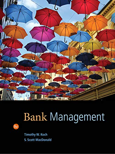 9781133494683: Bank Management