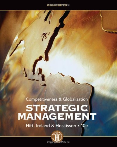9781133495239: Strategic Management: Concepts: Competitiveness and Globalization