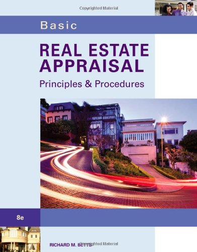 Basic Real Estate Appraisal (with Student CD-ROM): Betts, Richard M.