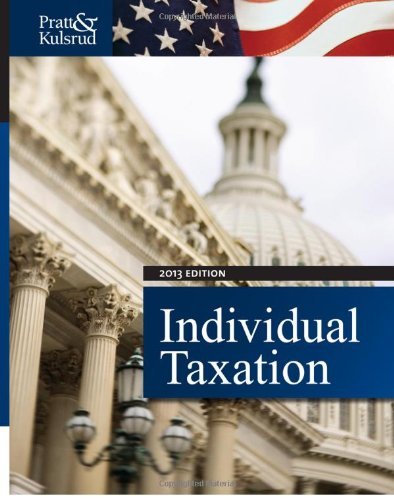 9781133496113: Individual Taxation 2013 (with H&R Block @ Home CD-ROM, CPA Excel 1-Semester Printed Access Card)