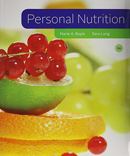 Bundle: Personal Nutrition, 8th + Diet Analysis Plus 2-Semester Printed Access Card: Boyle, Marie A...