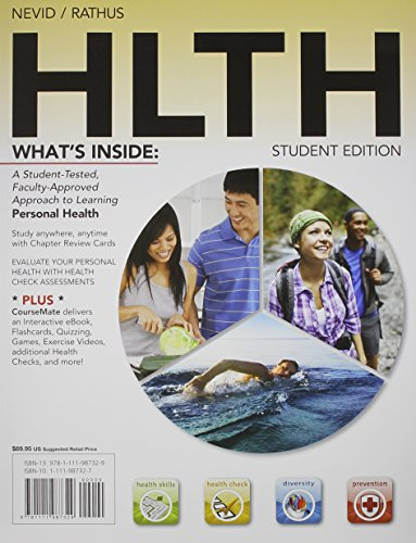 9781133499084: Bundle: HLTH (with Health CourseMate with eBook Printed Access Card) + Diet Analysis Plus 2-Semester Printed Access Card