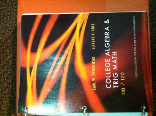 9781133523345: College Algebra & Trig Math