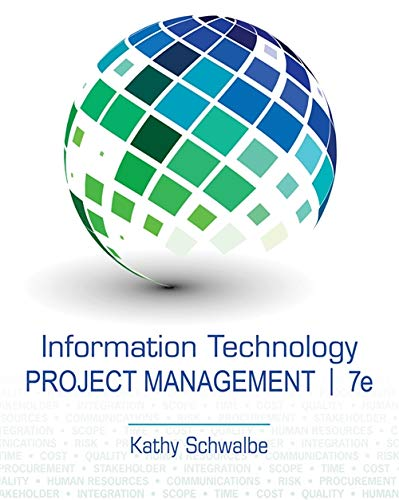 Information Technology Project Management: Schwalbe, Kathy