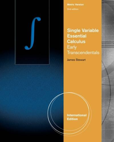 9781133528630: Single Variable Essential Calculus: Early Transcendentals (International Metric Edition)