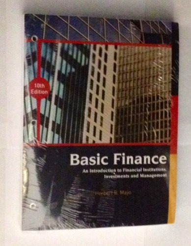 9781133531982: Basic Finance: An Introduction to Financial Institutions, Investments and Management