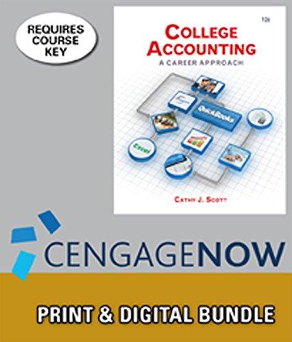 College Accounting: Cathy Scott