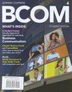 9781133562245: BCOM 4 (Fourth Edition) Author: LEHMAN/DUFRENE Instructor Edition