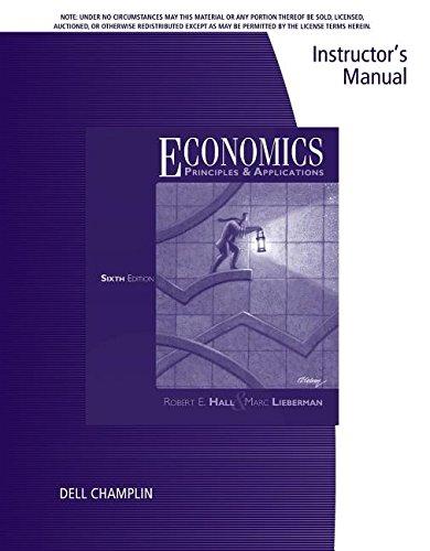 Im Economics 6e: Hall Lieberman