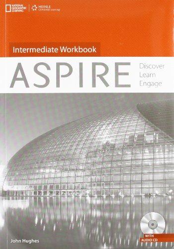 9781133564492: Aspire Intermediate: Workbook with Audio CD