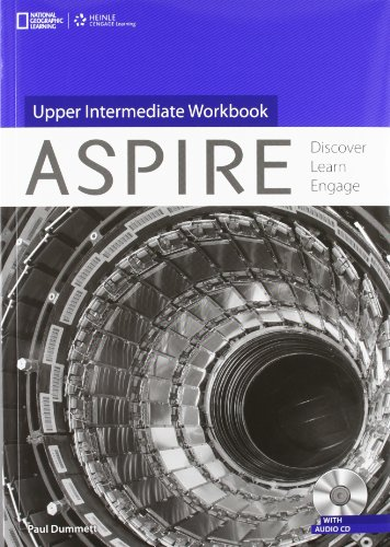9781133564546: Aspire Upper Intermediate: Workbook with Audio CD