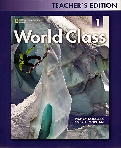 9781133565789: World Class Teacher's Edition Level 1