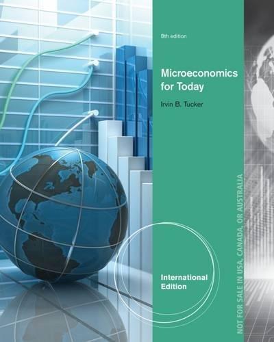 9781133582151: Microeconomics for Today. Irvin Tucker