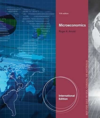 9781133582168 Microeconomics International Edition With