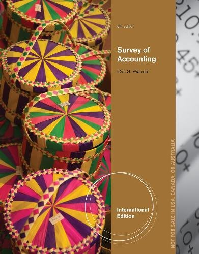 9781133584223: Survey of Accounting