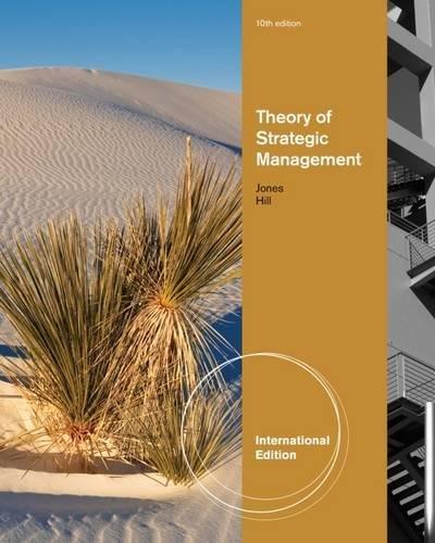 9781133584704: Theory of Strategic Management, International Edition