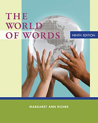 9781133586845: The World of Words