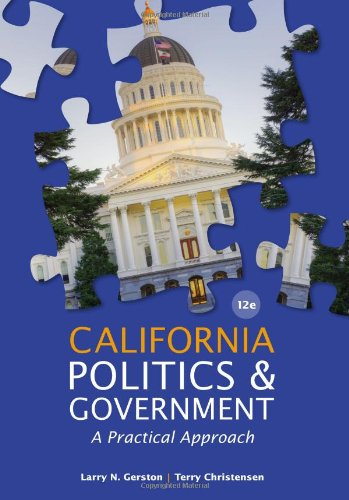 California politics and government gerston