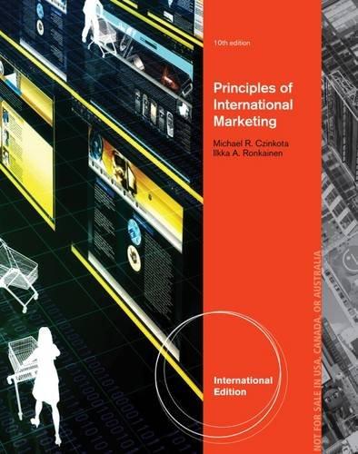 9781133588399: Principles Of International Marketing