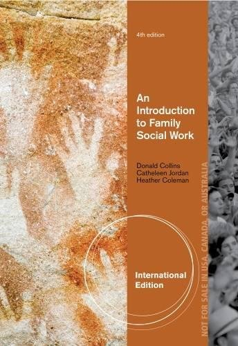 9781133588788: An Introduction to Family Social Work