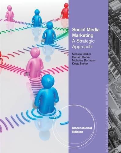 9781133589273: Social Media Marketing: A Strategic Approach, International Edition