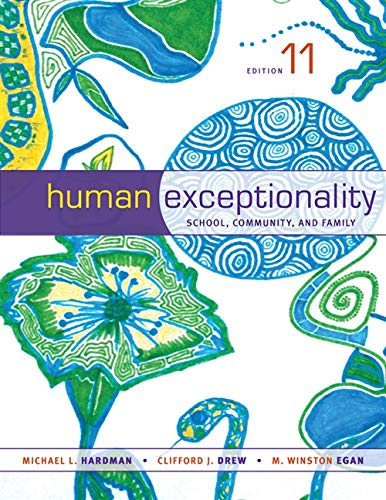 9781133589839: Human Exceptionality: School, Community, and Family