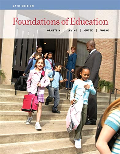 9781133589853: Foundations of Education
