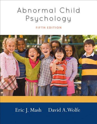 9781133590637: Cengage Advantage Books: Abnormal Child Psychology