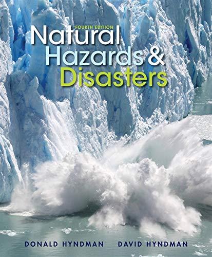 Natural Hazards and Disasters: Hyndman, Donald; Hyndman,