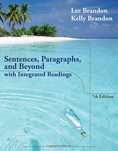 9781133591924: Sentences, Paragraphs, and Beyond: With Integrated Readings
