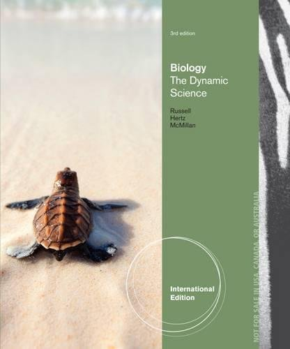 9781133592051: Biology: The Dynamic Science, International Edition
