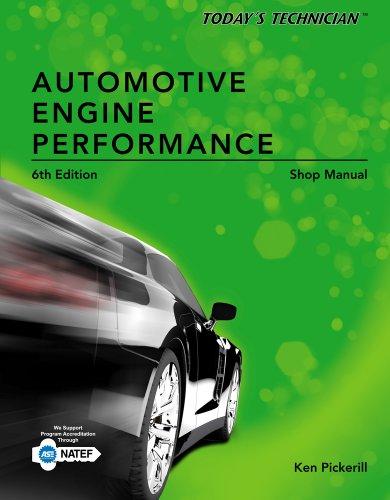 9781133592884: Today's Technician: Automotive Engine Performance Shop Manual