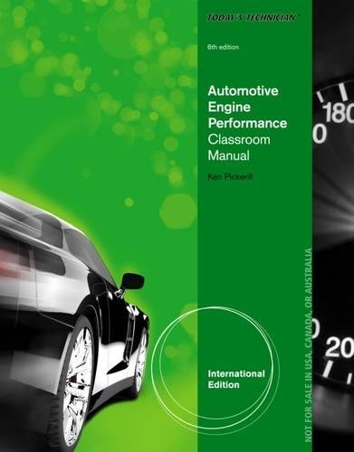 9781133592921: Today's Technician: Automotive Engine Performance Classroom and Shop Manuals
