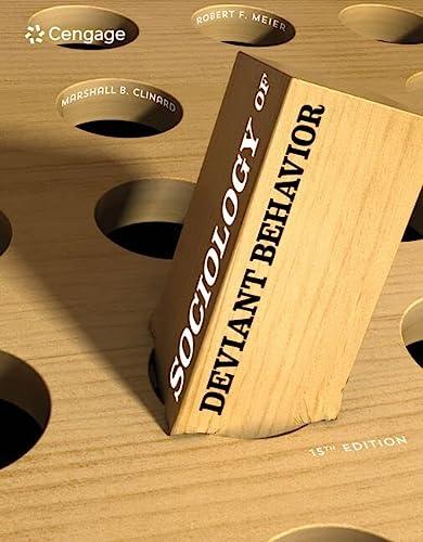 Sociology of Deviant Behavior: Clinard, Marshall B.,