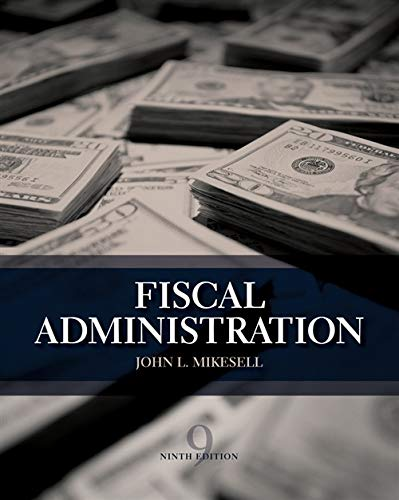 9781133594802: Fiscal Administration