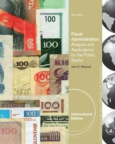 9781133594840: Fiscal Administration, International Edition