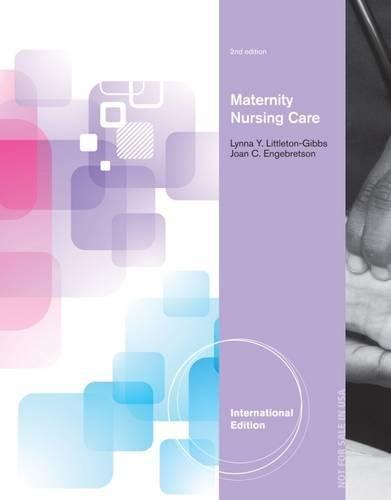 9781133595489: Maternity Nursing Care