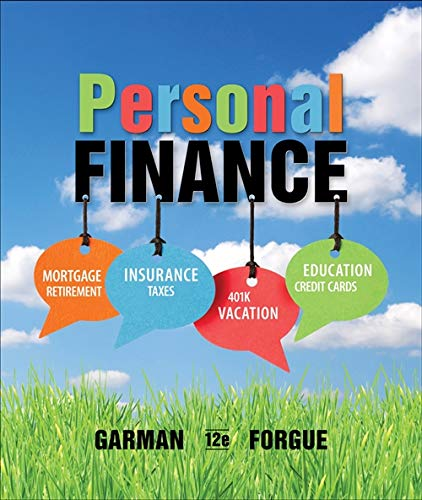 9781133595830: Personal Finance