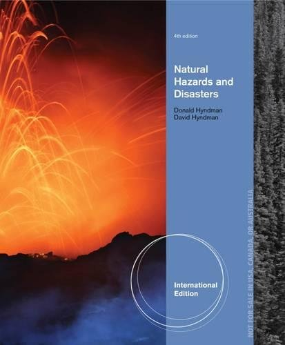 9781133598640: Natural Hazards and Disasters