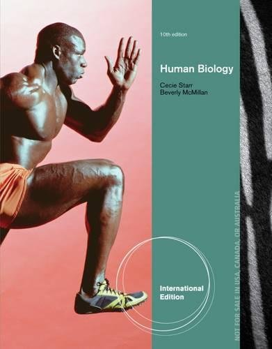 9781133599234: Human Biology, International Edition