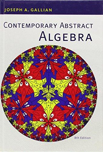 9781133599708: Contemporary Abstract Algebra