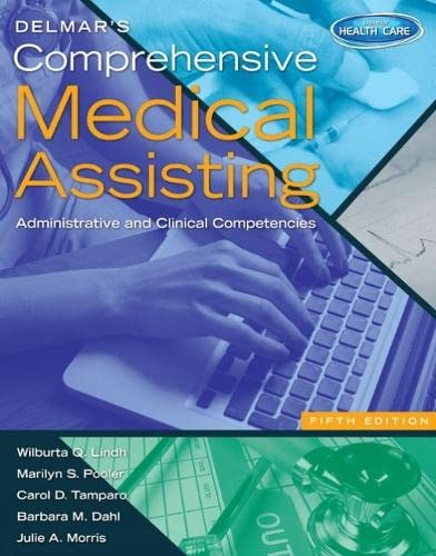 9781133602835: Delmar's Comprehensive Medical Assisting: Administrative and Clinical Competencies (Book Only)