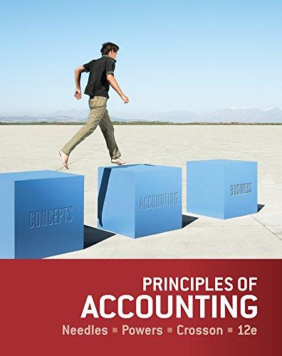 Principles of Accounting: Needles, Belverd E.; Powers, Marian; Crosson, Susan V.