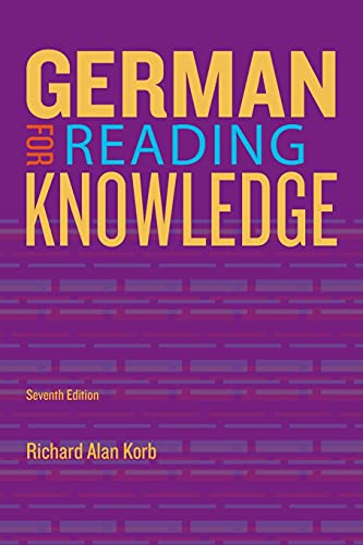 9781133604266: German for Reading Knowledge (World Languages)