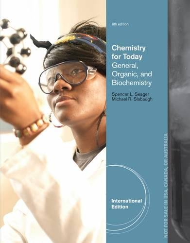 9781133604334: Chemistry for Today: General, Organic and Biochemistry